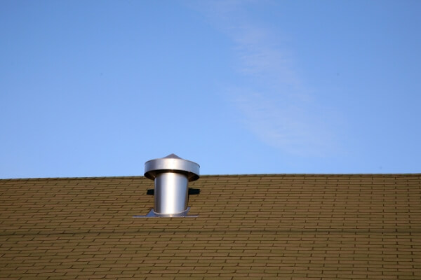 This is a picture of a repair roof vents pipes.